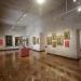 La pinacoteca alberga 17 cuadros del siglo XVIII, de la Escuela Cusqueña.