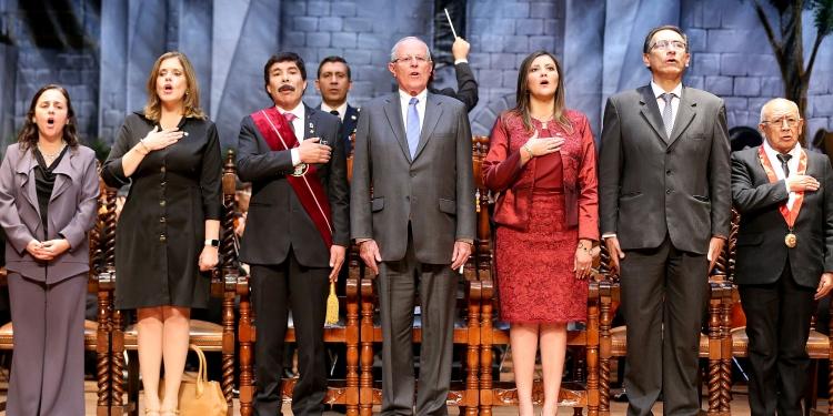 """""""Gracias, Arequipa. Estoy aquí por ti"""", dijo Kuczynski en la Sesión Solemne por el 476° aniversario de la ciudad."""
