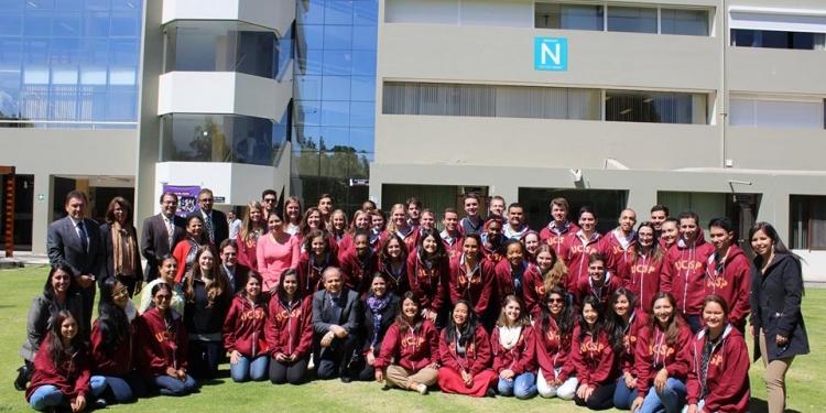 Cada vez son más los estudiantes de intercambio en la UCSP.