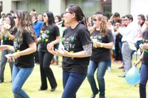 La alegría fue la característica que predominó en todas las actividades de Universitas.