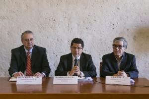 Eduardo Vega Luna y Alan Wagner se reunieron con autoridades locales para recoger  recomendaciones sobre la lucha anticorrupción.