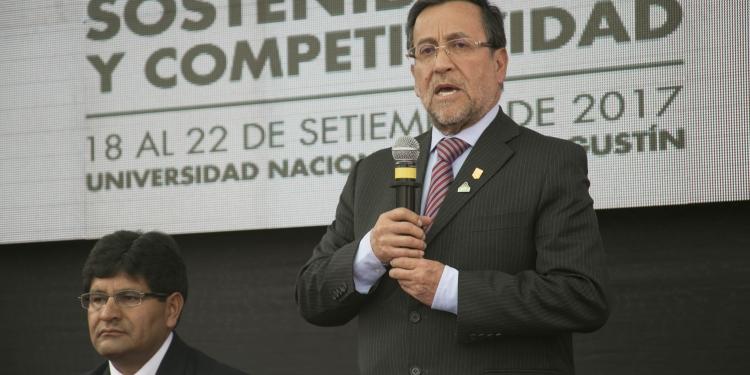 Miguel Cardozo ratificó la decisión de desarrollar la edición  número 33 de Perúmin en Arequipa, en setiembre del 2017.