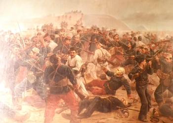 El ejemplo de Bolognesi trasciende el campo de batalla y llega a iluminar la vida misma.