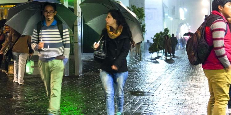 Las lluvias cesarán en los próximos días en la ciudad.