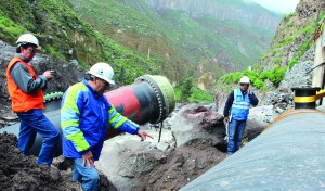 Los problemas presentados en la recuperación de la línea de conducción de La Tomilla II le costarían el puesto a Aguilar y compañía.