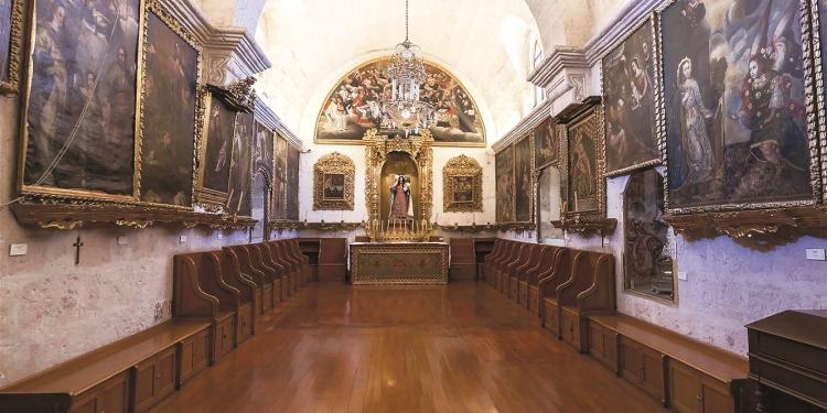El museo de arte virreinal Santa Teresa ofrecerá recorridos guiados gratuitos durante el mes de mayo.