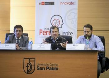 El lanzamiento del  concurso Reto Perú  Resiliente se realizó en las instalaciones del Instituto del Sur.