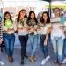 Campaña de concientización fue realizada por alumnas de la Escuela de Comunicación Social.