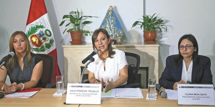 Katherine Ampuero y Julia Príncipe respondieron en conferencia de prensa a declaraciones hechas por la ministra Pérez Tello.