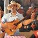 Acuarela de Mauro Castillo Gamarra para el álbum Yaraví arequipeño.
