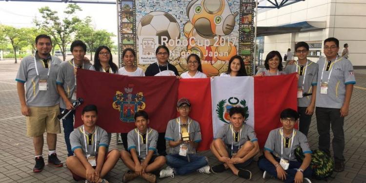 En la competencia individual se ubicaron en el puesto 17.