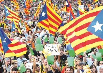 Aunque no lo parezca, el movimiento independentista catalán está trayendo perjuicios a la sociedad española.