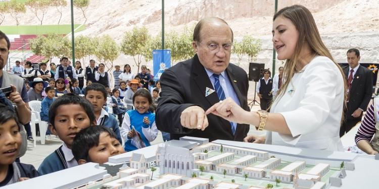 D´Alessio prometió apoyar al funcionamiento  del nuevo hospital Goyeneche.