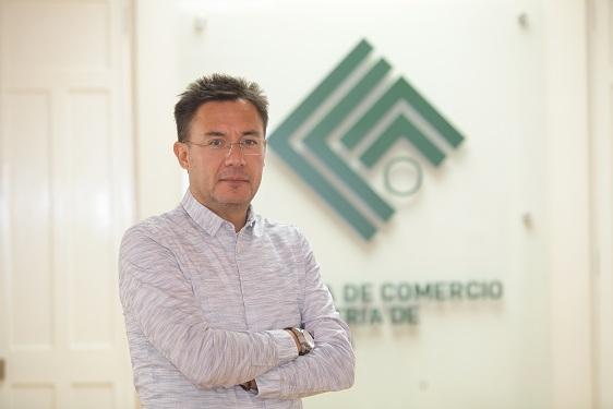 Aldo Aranzaens Yukimura es el presidente de la Cámara de Comercio e Industria de Arequipa en el periodo 2017-2018.