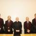 La sesión solemne por el aniversario de la UCSP contó con la presencia del arzobispo de Arequipa, monseñor Javier del Río Alba.