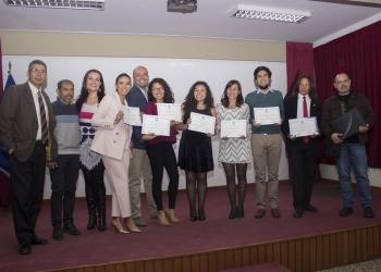 Los egresados recibieron sus diplomas en una ceremonia especial.
