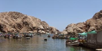 La caleta de Quilca, en el pasado, fue el principal puerto de la región.
