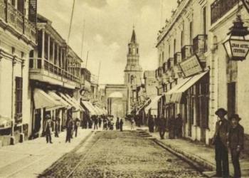La mayoría de comerciantes extranjeros que migraron a la ciudad venían de Inglaterra, Francia y Alemania.