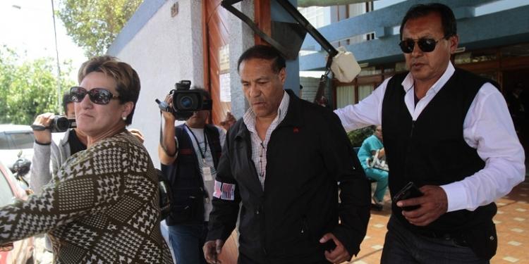 Raúl Becerra Velarde (al centro) fue nombrado director general de la PNP en el 2010. Estuvo once meses en el cargo, luego fue destituido y pasó al retiro.
