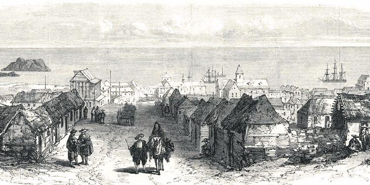 El puerto de Islay adquirió más importancia al finalizar las guerras por la independencia del Perú.