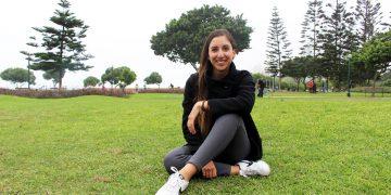Rafaela Pacheco Leyton, psicóloga deportiva formada en Arequipa.