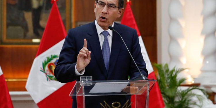 El presidente Vizcarra, por ahora dejó de lado el pedido de adelanto de elecciones.