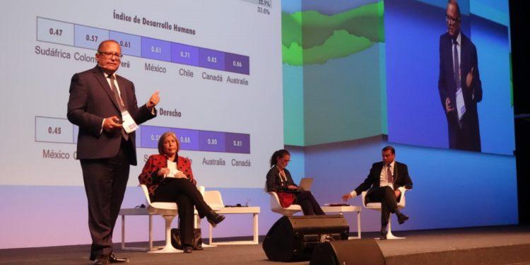 Gonzalo Tamayo, presentó el Índice de Competitividad Minera.