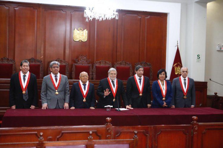 El pleno del Tribunal Constitucional, decidió por unanimidad pronunciarse sobre la legalidad del cierre del Congreso.
