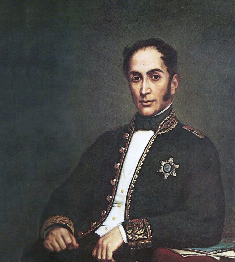 Simón José Antonio de la Santísima Trinidad Bolívar y Palacios, tuvo un recibimiento fastuoso en la ciudad blanca.