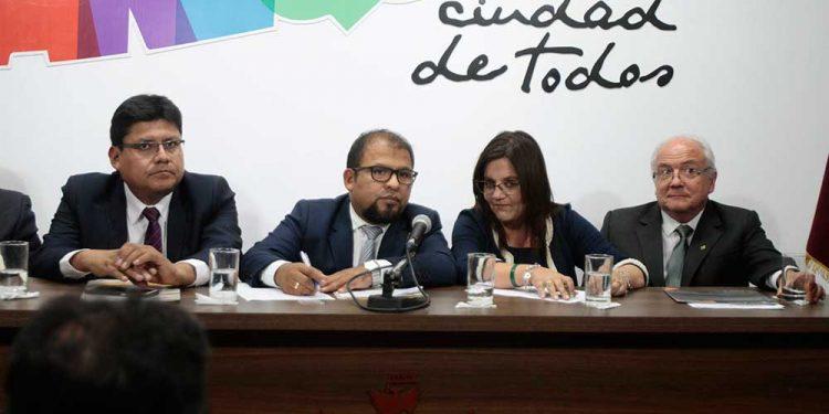 La Municipalidad Provincial de Arequipa, a cargo de Omar Candia, no ejecutó proyectos de gran envergadura para la provincia en el 2019.
