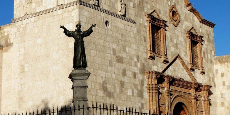 La sede de los cinco gremios se instaló a fines del siglo XVIII, muy cerca del convento San Francisco.