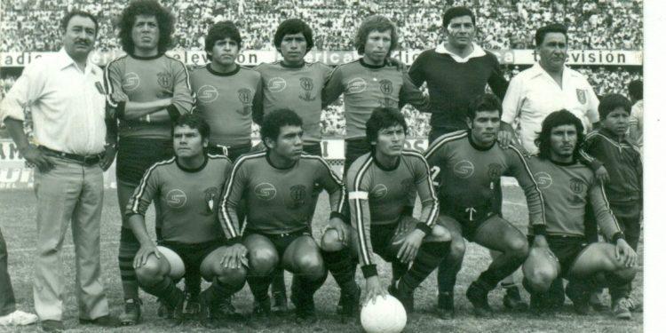 Equipo pampillano de 1981, que llegó a la finalísima de la Copa Perú.