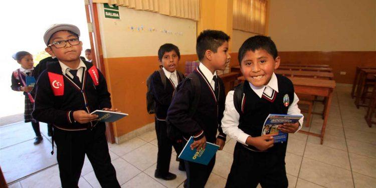 Autoridades no garantizan que el 16 de marzo retornen a las aulas los escolares de colegios públicos.