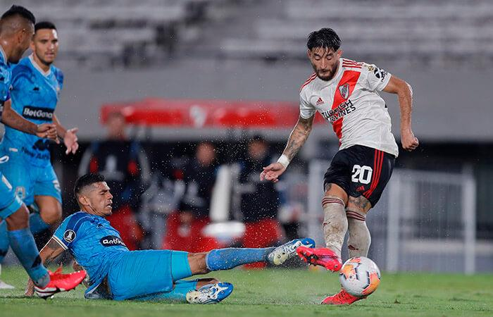 El 'poderoso' fue vapuleado en la segunda fecha de la Copa Libertadores.