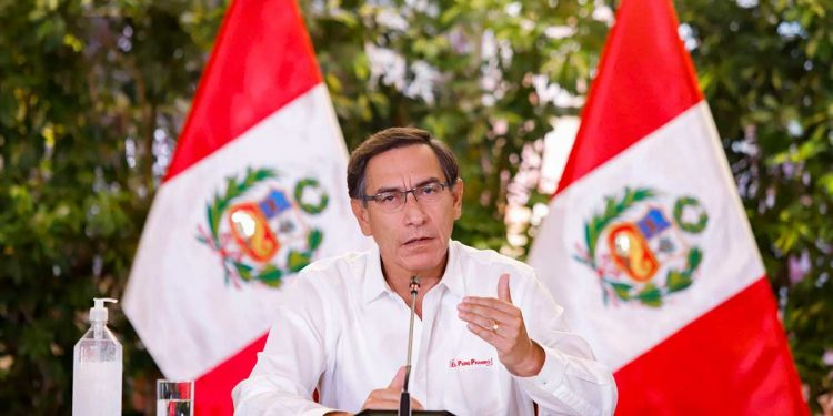 Presidente Vizcarra, amplió estado de emergencia nacional hasta después de semana santa.