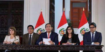Martín Vizcarra, dispuso medidas de urgencia para contener avance de coronavirus en el país.