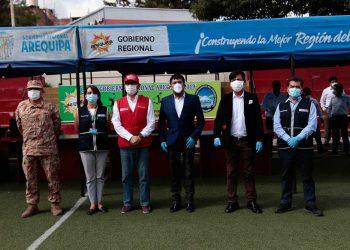 Se conformó 'comando regional' para hacer frente al coronavirus en Arequipa.