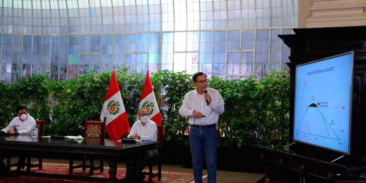 Martín Vizcarra, anunció una nueva medida para hacer frente a la propagación de coronavirus en el país.
