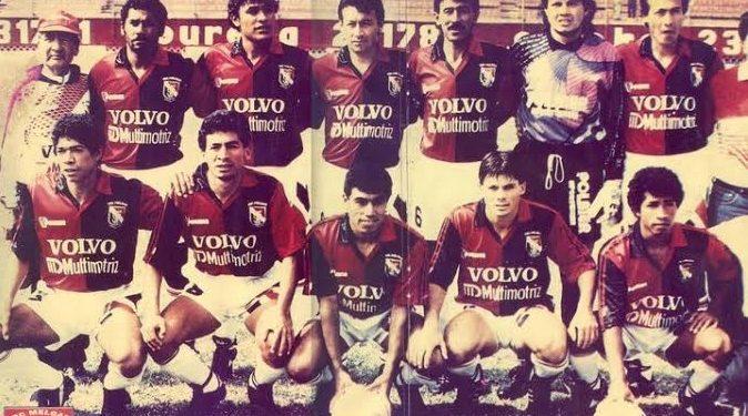 Freddy Torrealva guarda mucha gratitud a Arequipa y a los hinchas melgarianos. En la imagen es el primero de los hincados de derecha a izquierda.