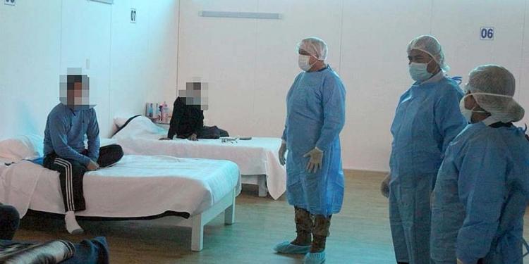 En alerta. 71 pacientes ingresaron al Centro de Aislamiento Cerro Juli en solo dos días.