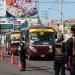 Después de dos semanas de suspensión regresó el transporte urbano a la ciudad y bajo un estricto control y fiscalización, pero la población aún no respeta las medidas sanitarias.