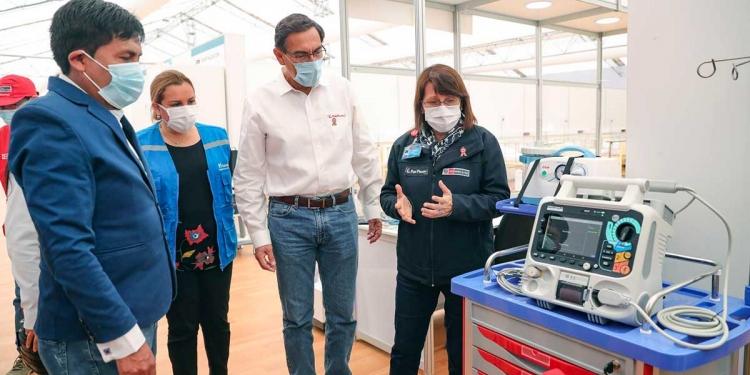 El Gobierno nacional se encargaría de resolver el drama del sector Salud en Arequipa.