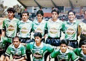 Marcos Sánchez (el tercero de cuclillas) y una particular historia que no olvidará nunca.