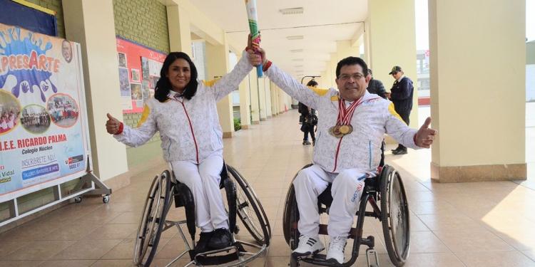 La mejor experiencia para Karina Torres, fue llevar la antorcha de los Juegos Parapanamericanos Lima 2019.