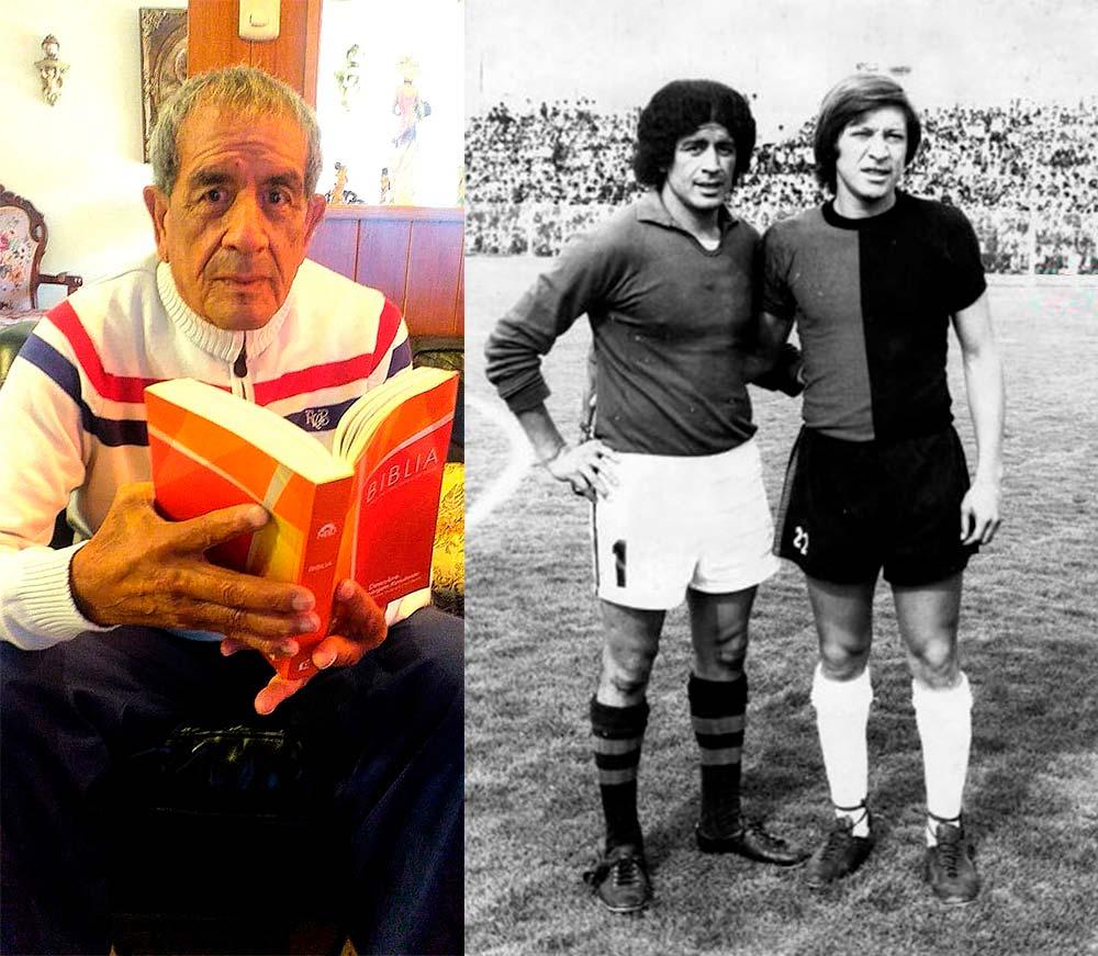 Emilio Campana y sus dos facetas, hoy como creyente y en el pasado como portero del Melgar Campeón de 1981.