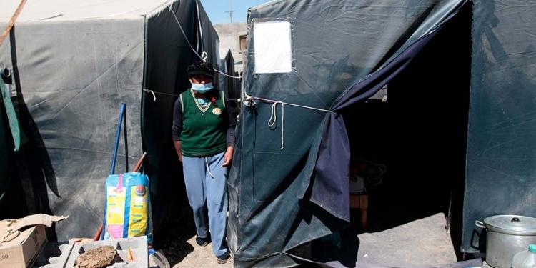 Así sobreviven en pandemia siete familias afectadas por el ingreso de las torrenteras.