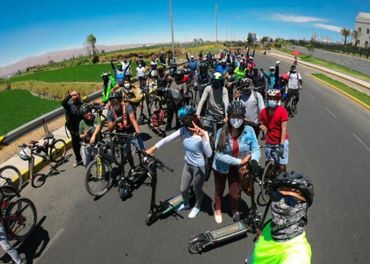 En octubre realizaron la primera 'ruteada' que convocó a 150 personas.