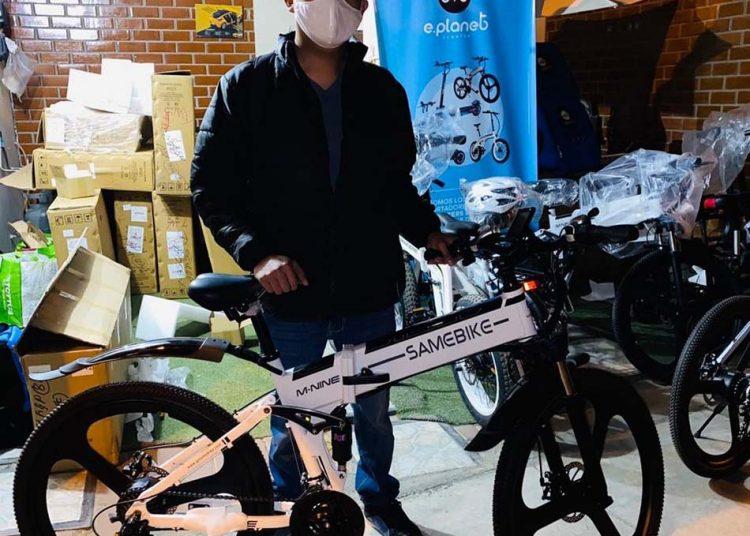 Recientemente iniciaron la venta de bicicletas eléctricas.
