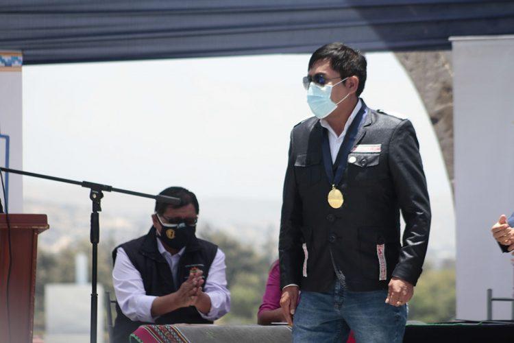 """El Poder Judicial """"sancionó"""" al gobernador Elmer Cáceres Llica por no implementar plan contra el coronavirus."""