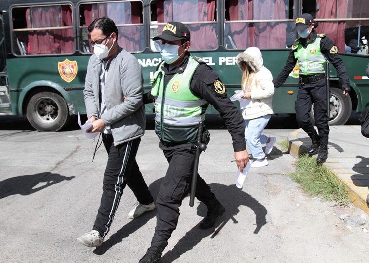 Durante 72 horas se harán las diligencias necesarias para solicitar la prisión de los intervenidos.